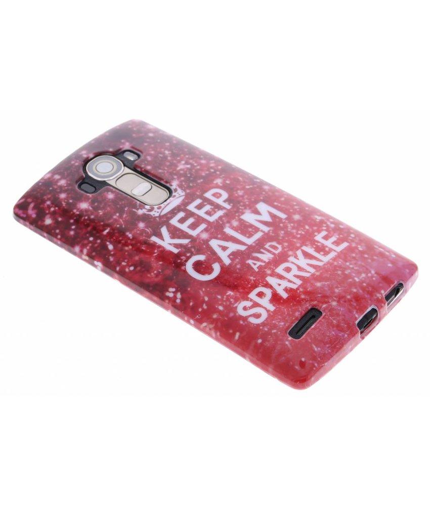 Design TPU siliconen hoesje LG G4