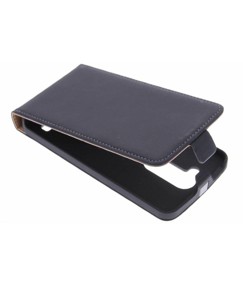 Mobiparts Premium Flipcase LG L Bello / L80 Plus - Black