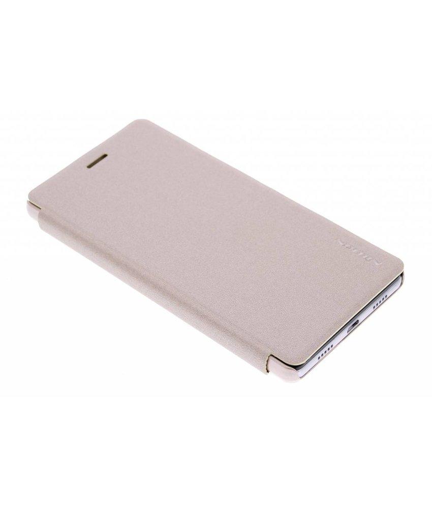 Nillkin Sparkle slim booktype Huawei P8 Lite - Goud