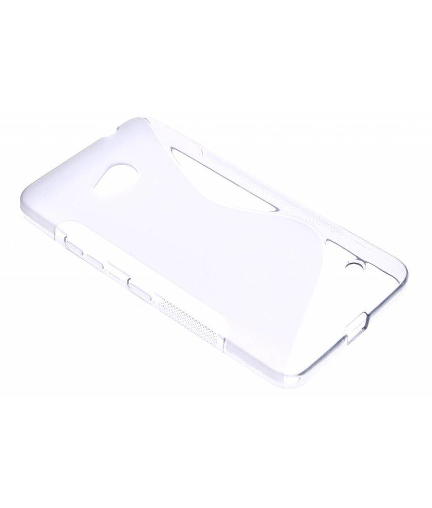 S-line TPU hoesje Microsoft Lumia 640