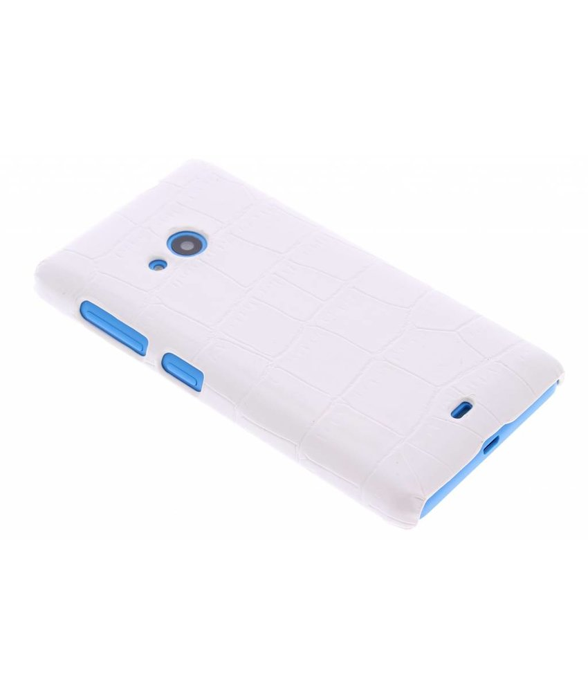 Krokodil design hardcase hoesje Microsoft Lumia 535
