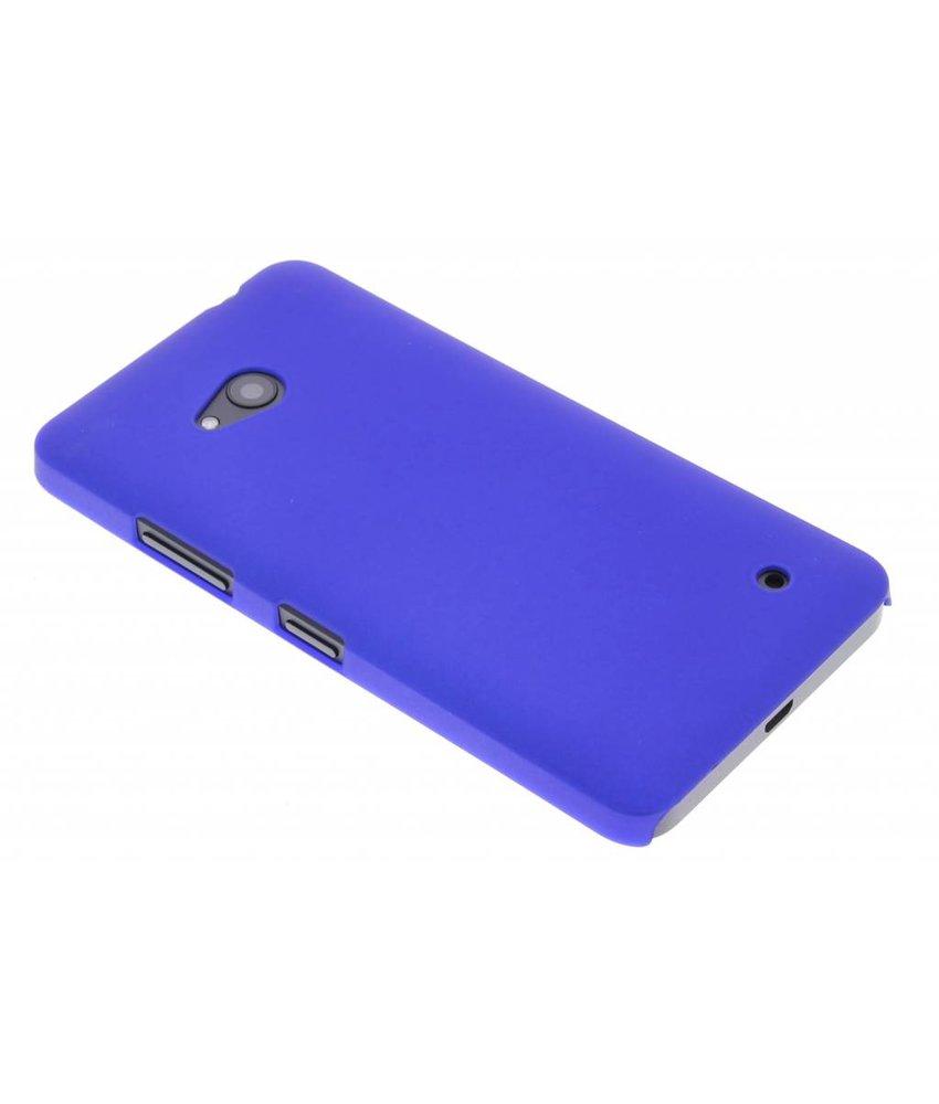 Blauw effen hardcase Microsoft Lumia 640