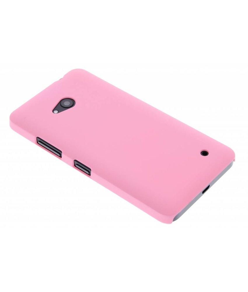 Roze effen hardcase Microsoft Lumia 640