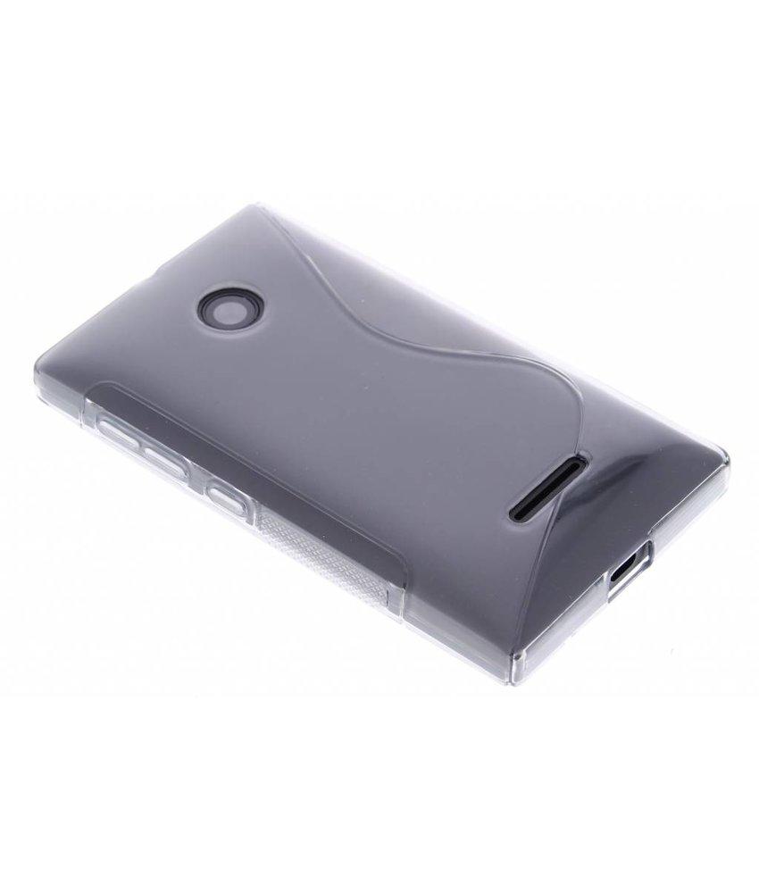 Grijs S-line TPU hoesje Microsoft Lumia 435 / 532