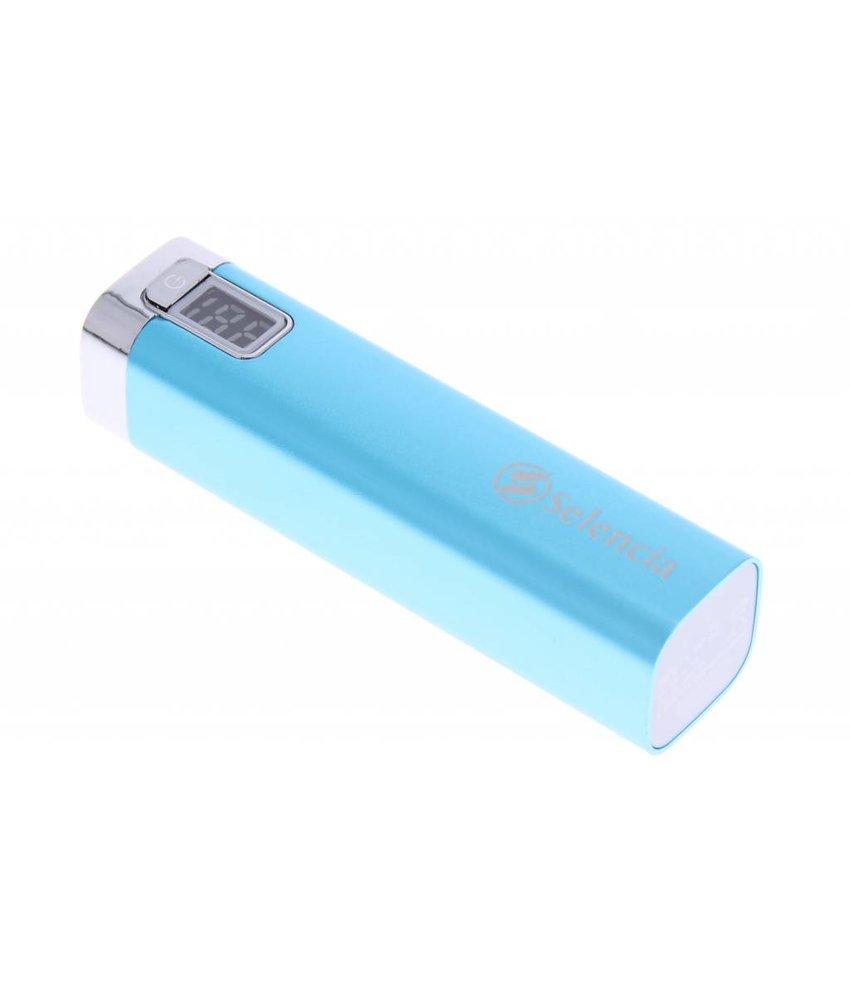 Selencia Universele powerbank 2600mAh - blauw