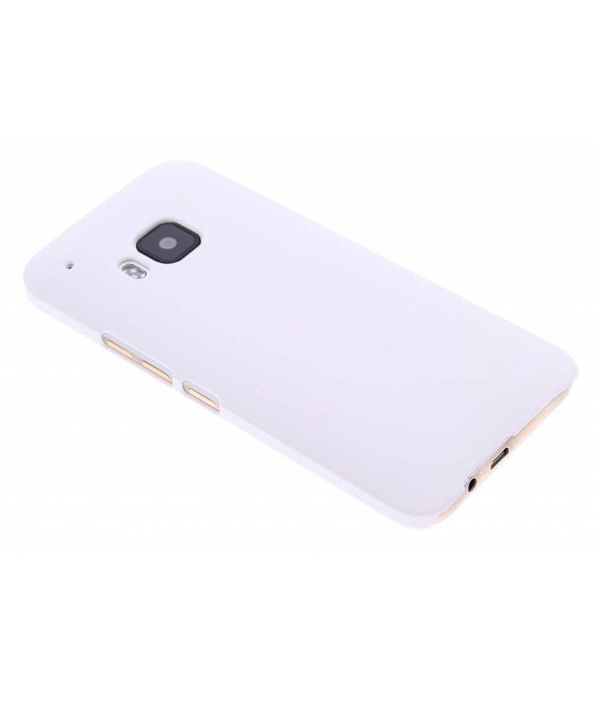 Wit effen hardcase hoesje HTC One M9