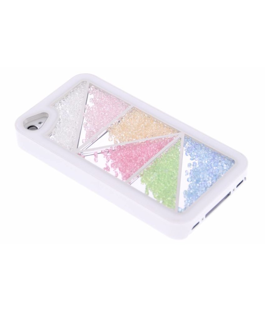 Gekleurde steentjes hardcase iPhone 4 / 4s