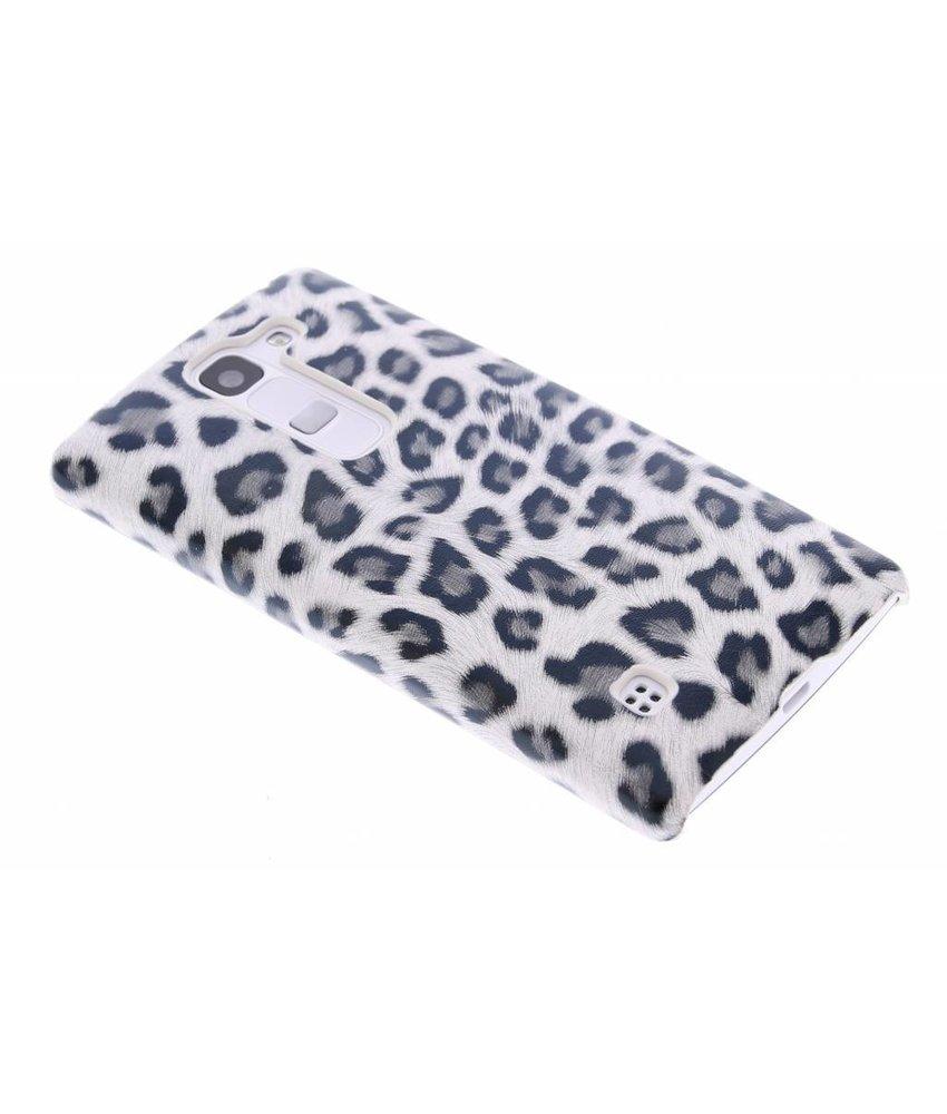 Grijs luipaard design hardcase LG Spirit