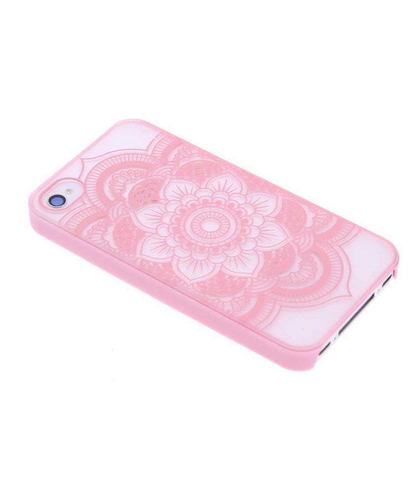 Mandala mat hardcase hoesje iPhone 4 / 4s
