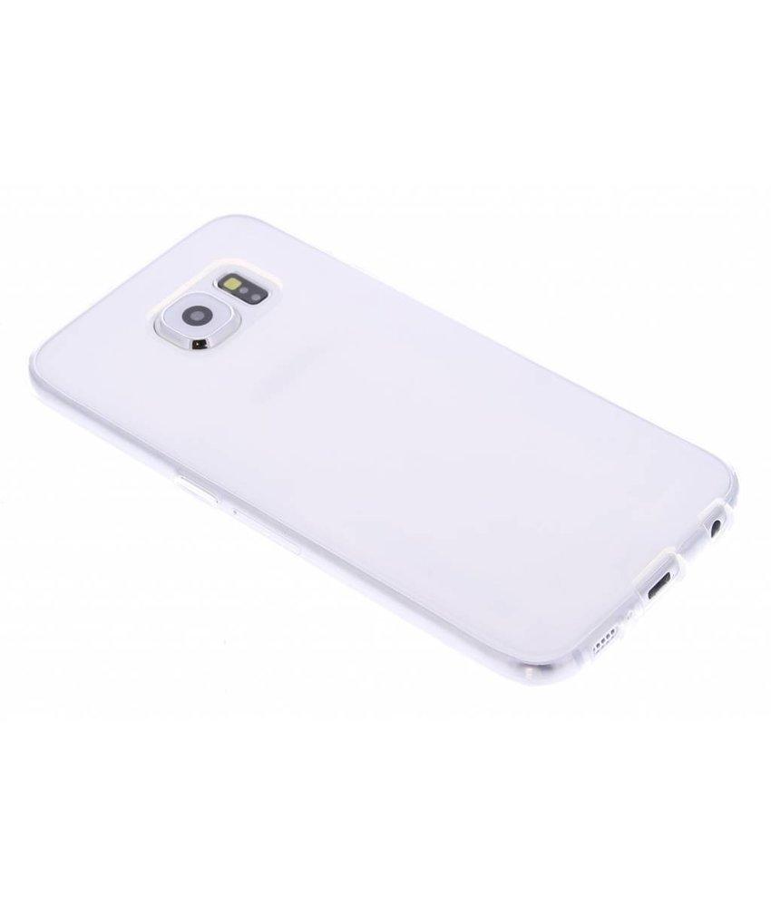 Transparant gel case Samsung Galaxy S6