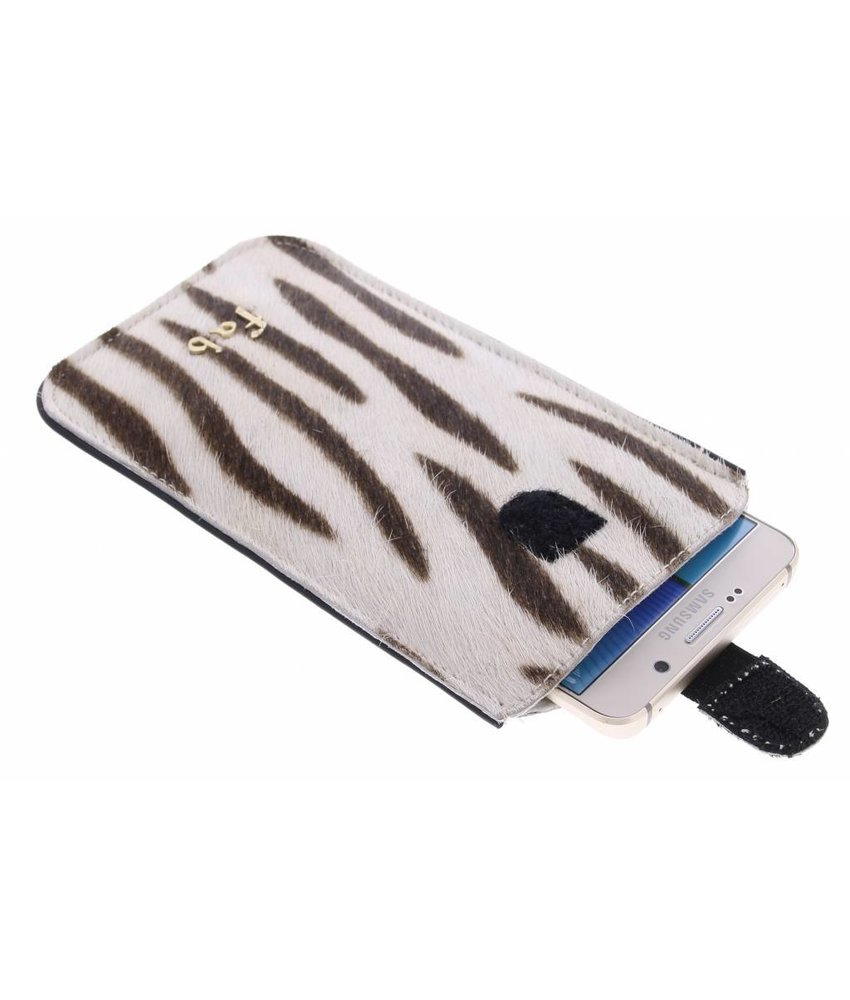 Fab. Zebra Cream Cover - Size 3XL