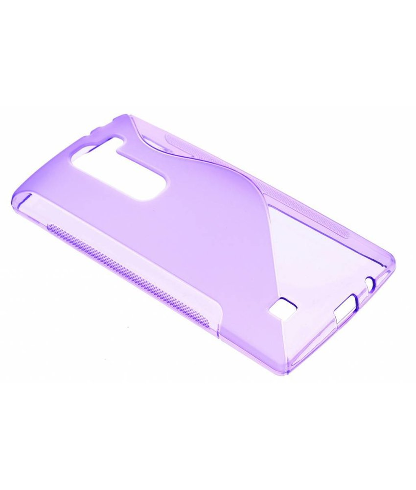 Paars S-line TPU hoesje LG Magna / G4c