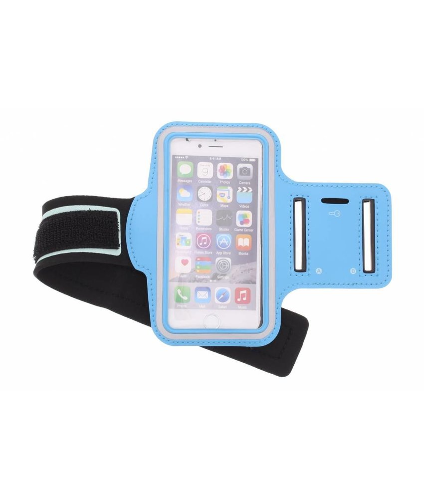 Blauw sportarmband iPhone 6 / 6s