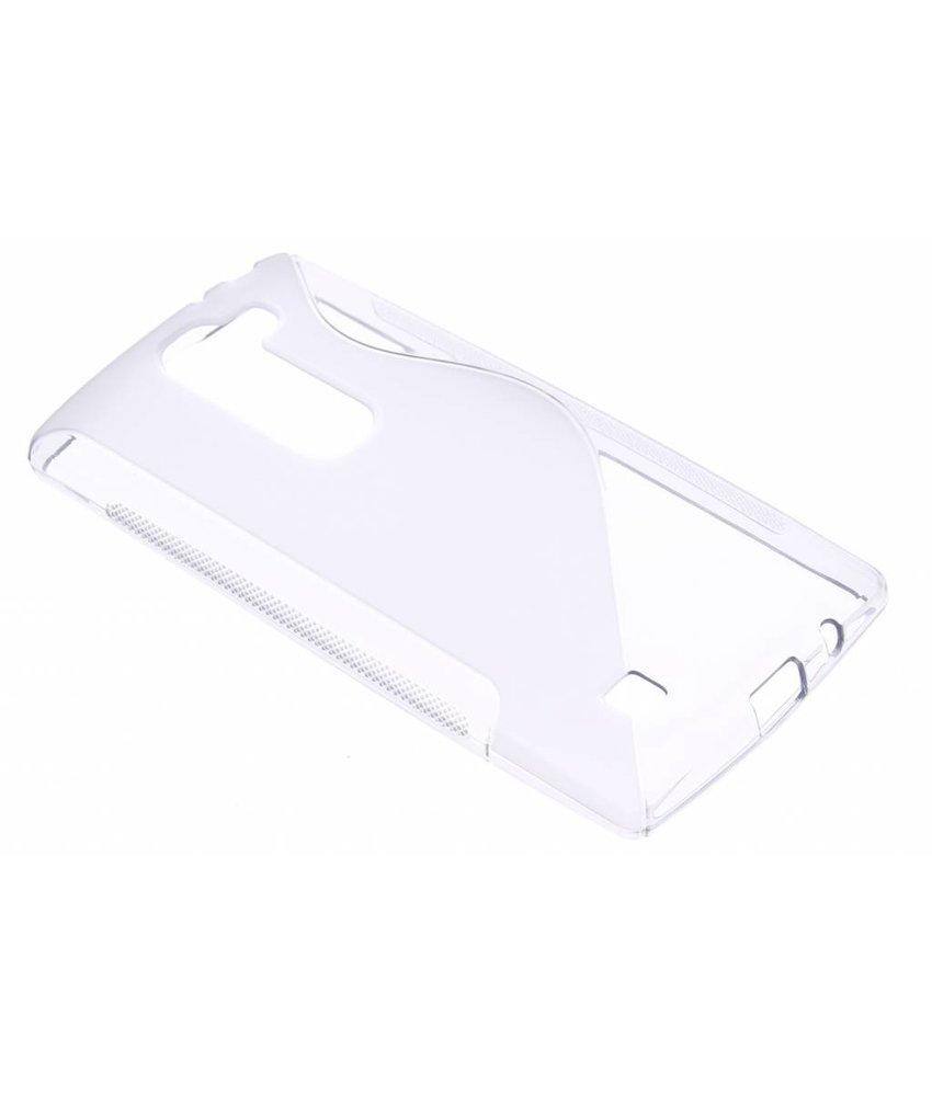 Transparant S-line TPU hoesje LG Magna / G4c