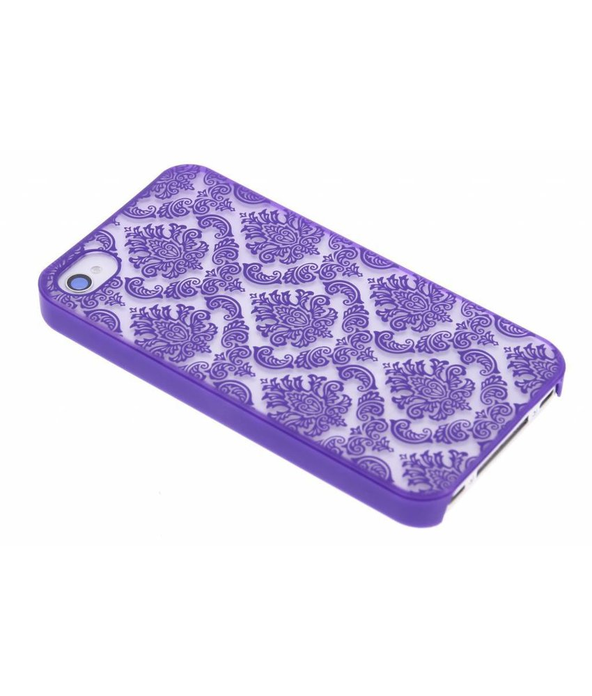 Barok mat hardcase hoesje iPhone 4 / 4s