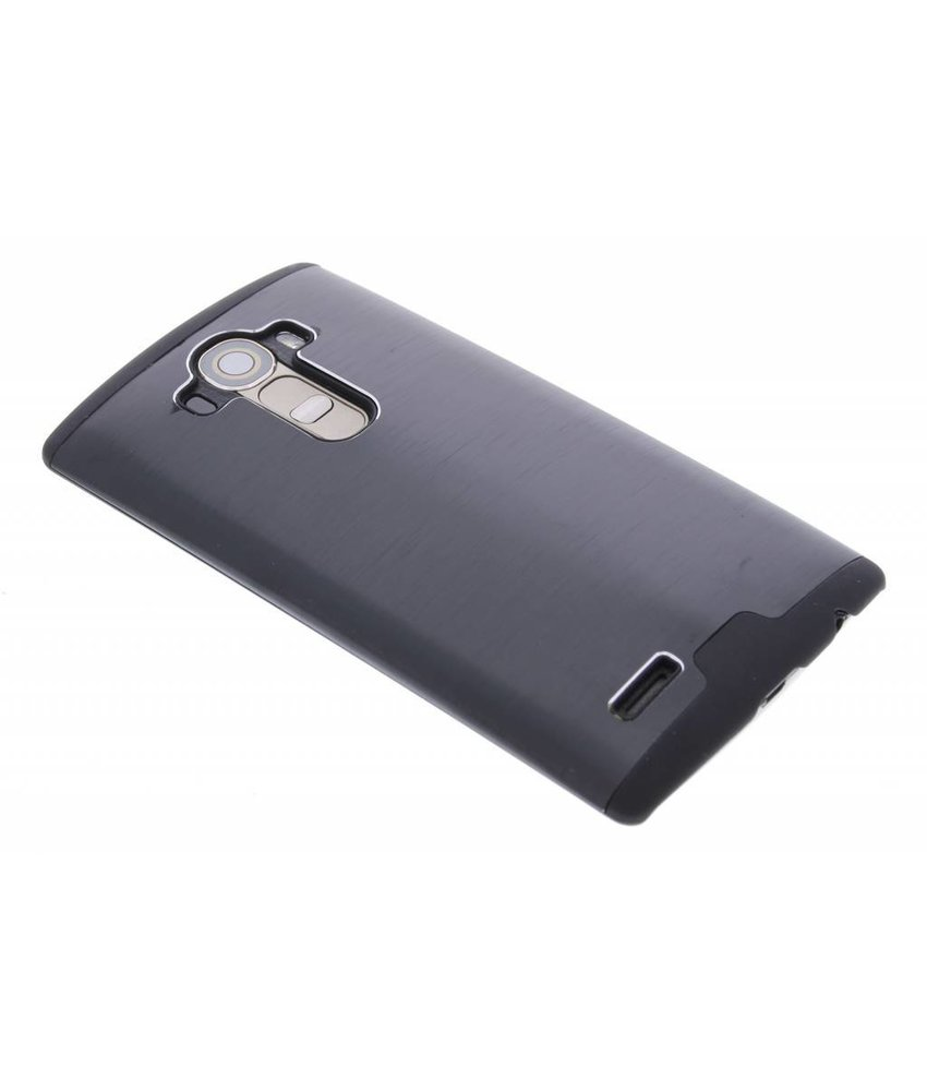 Zwart brushed aluminium hardcase LG G4