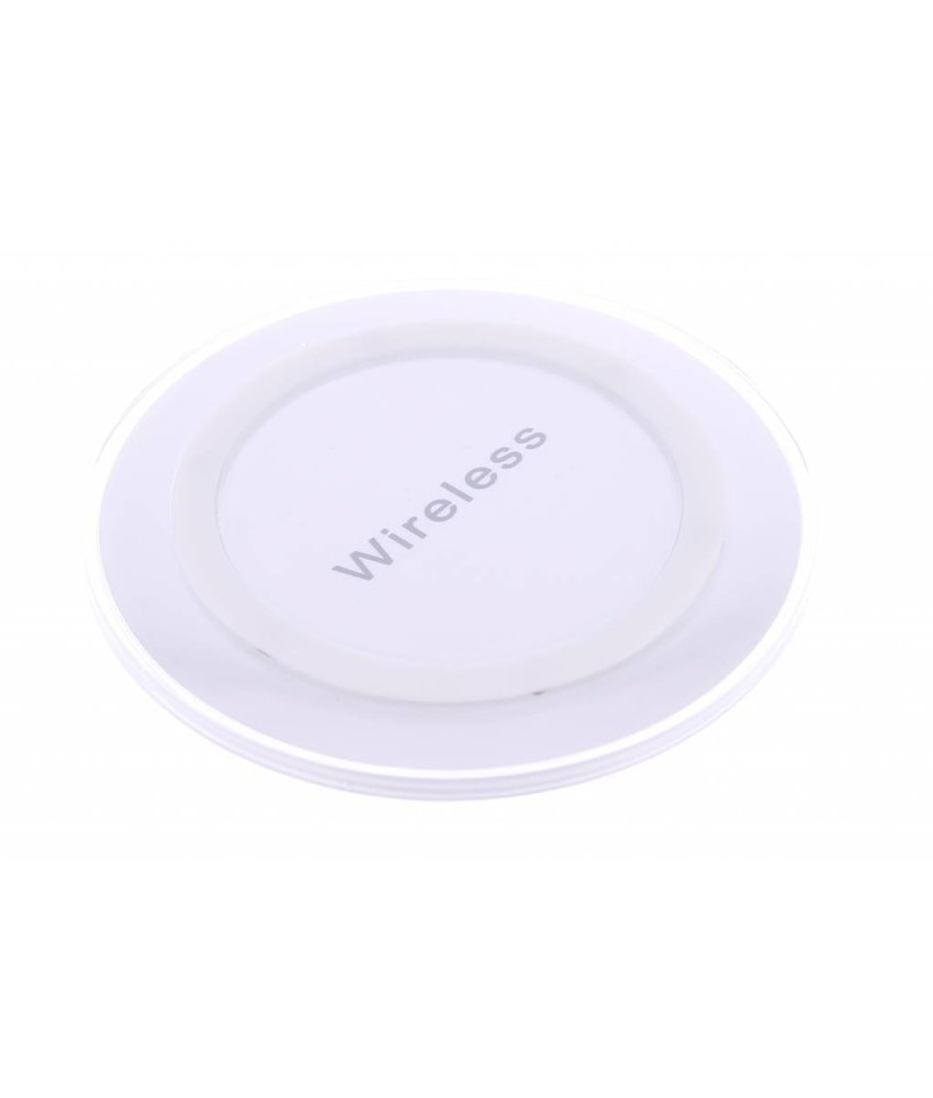 Qi Wireless Charging Plate - Wit