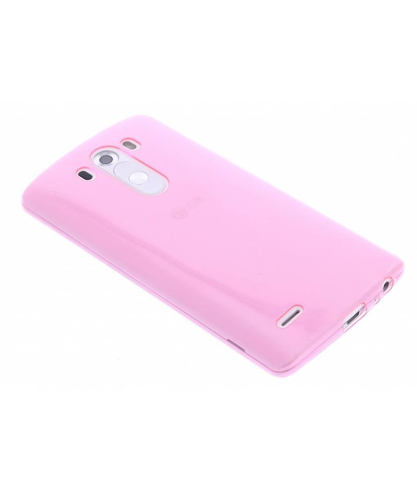 Ultra thin transparant TPU hoesje LG G3