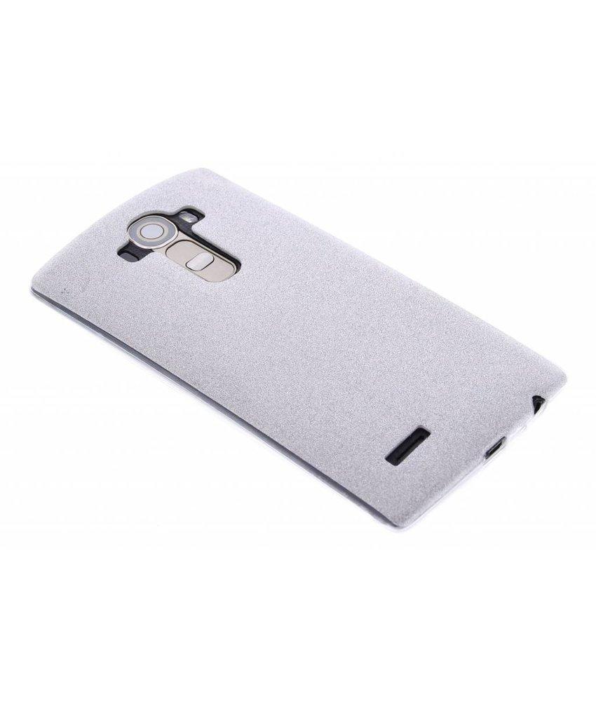 Zilver glitter TPU siliconen hoesje LG G4