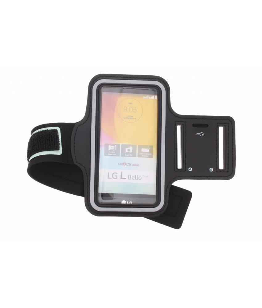 Zwart sportarmband LG L Bello / L80 Plus