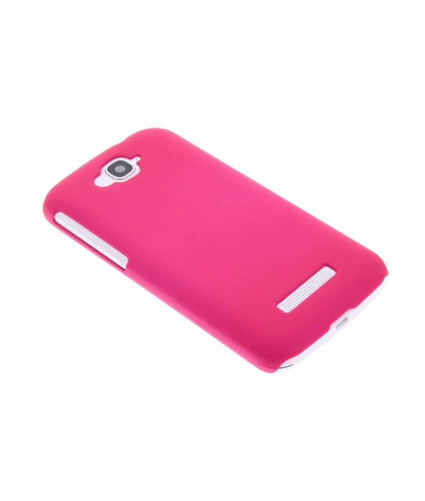 Fuchsia effen hardcase hoesje Alcatel One Touch Pop C7