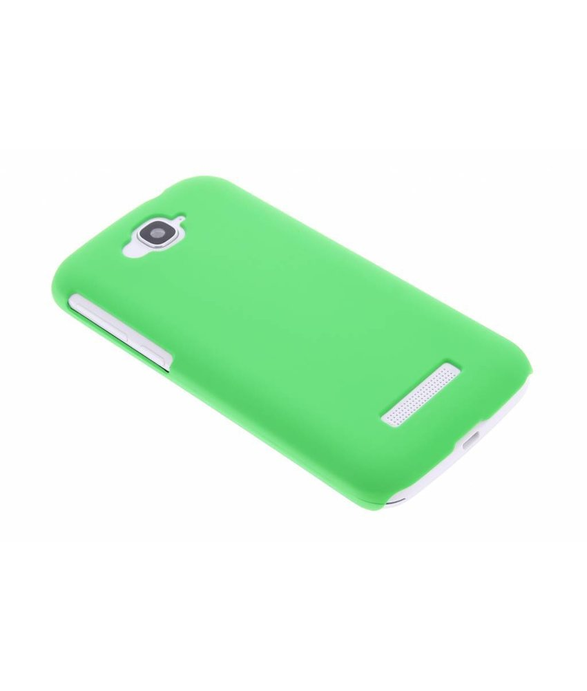 Groen effen hardcase hoesje Alcatel One Touch Pop C7