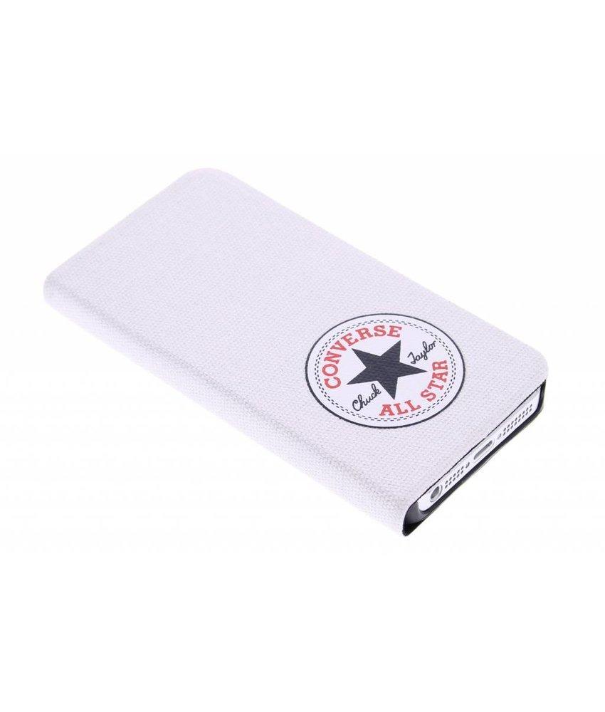 Converse Booklet Case iPhone 5 / 5s / SE - Wit