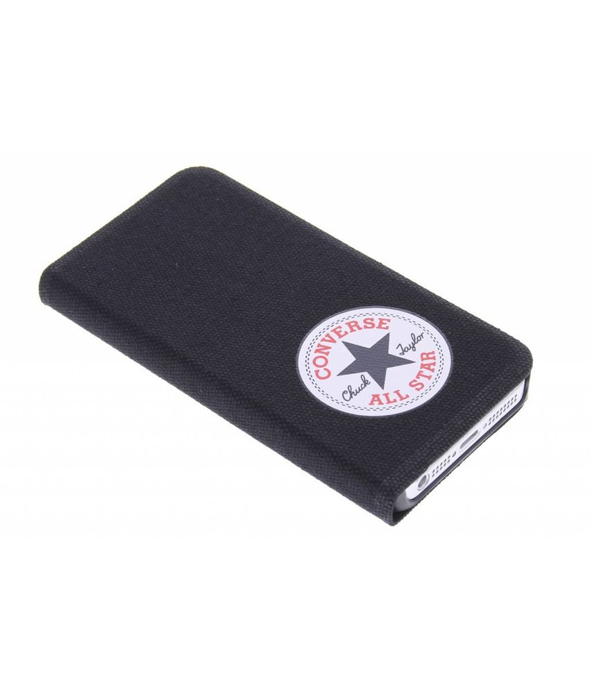 Converse Booklet Case iPhone 5 / 5s / SE - Zwart