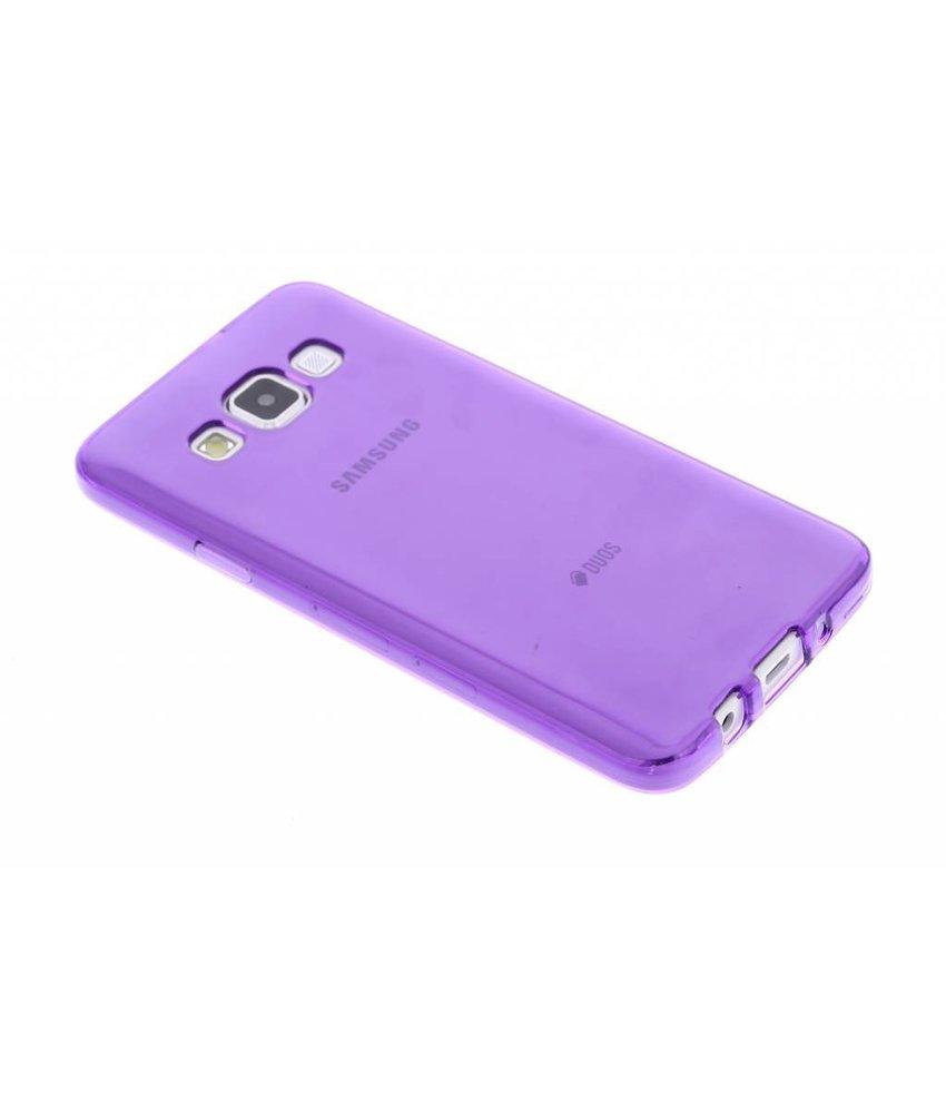 Transparant gel case Samsung Galaxy A3