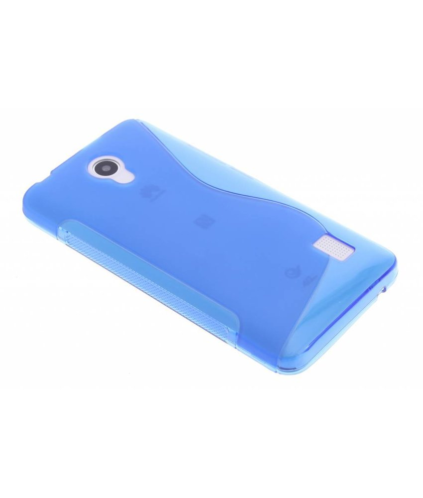 Blauw S-line TPU hoesje Huawei Y635