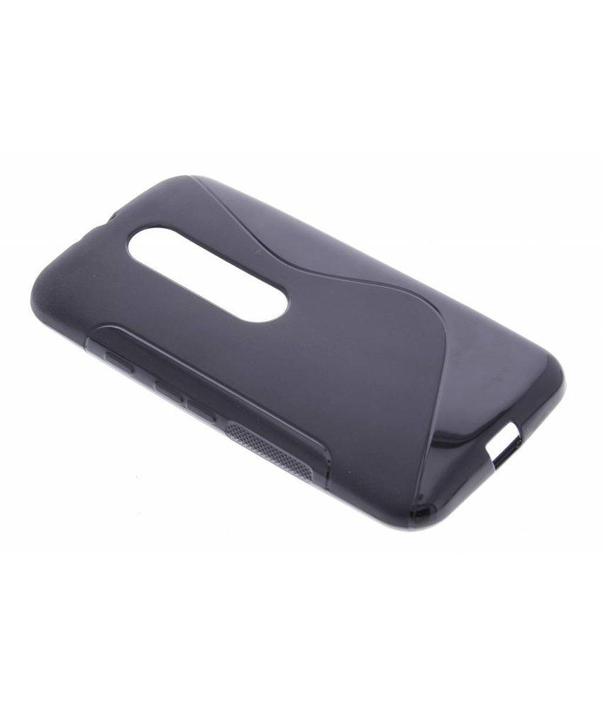 Zwart S-line TPU hoesje Motorola Moto G 3rd Gen
