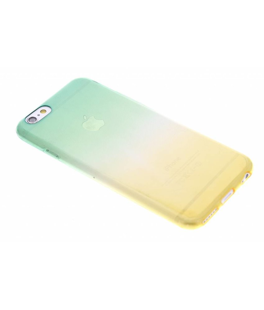 Tweekleurig TPU siliconen hoesje iPhone 6 / 6s