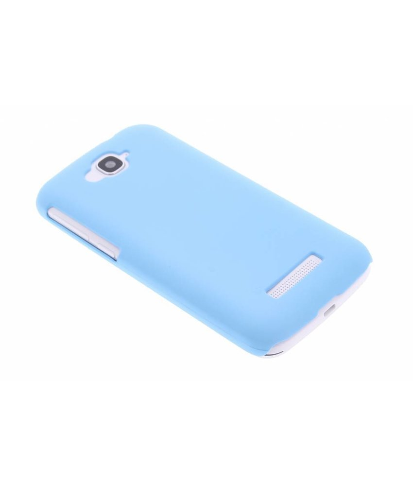 Turquoise effen hardcase hoesje Alcatel One Touch Pop C7