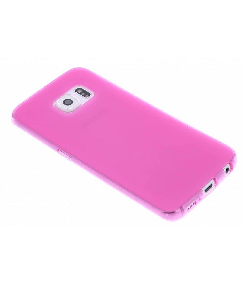 Hard siliconen hoesje Samsung Galaxy S6 Edge