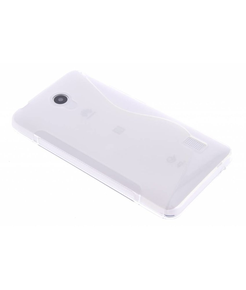 Transparant S-line TPU hoesje Huawei Y635