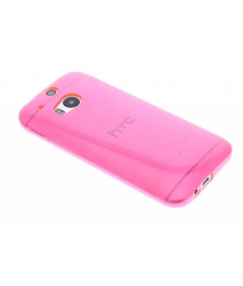 Transparant gel case HTC One M8 / M8s