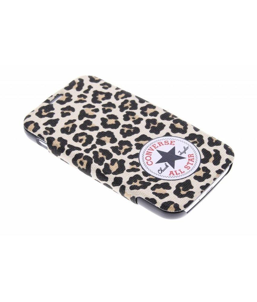 Converse Booklet Case Samsung Galaxy S4 - Leopard