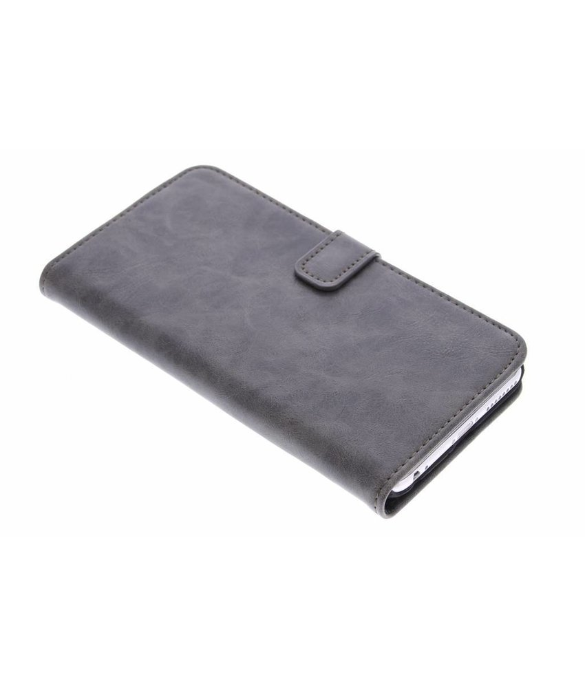 Luxe leder booktype hoes iPhone 6(s) Plus