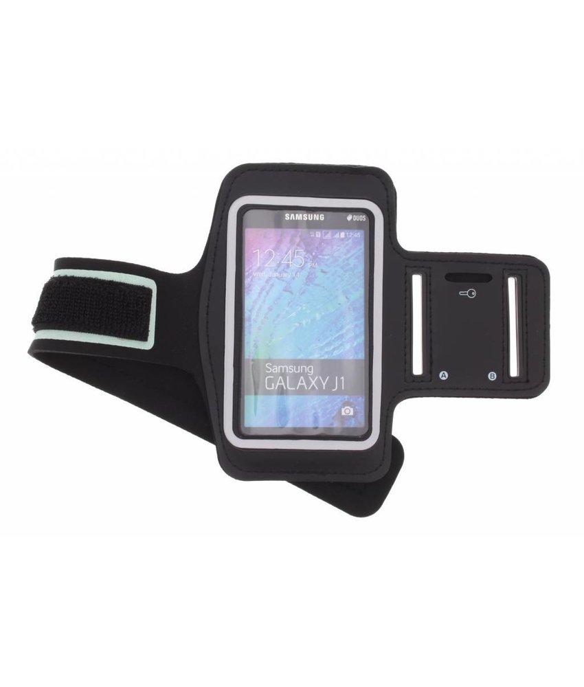 Zwart sportarmband Samsung Galaxy J1