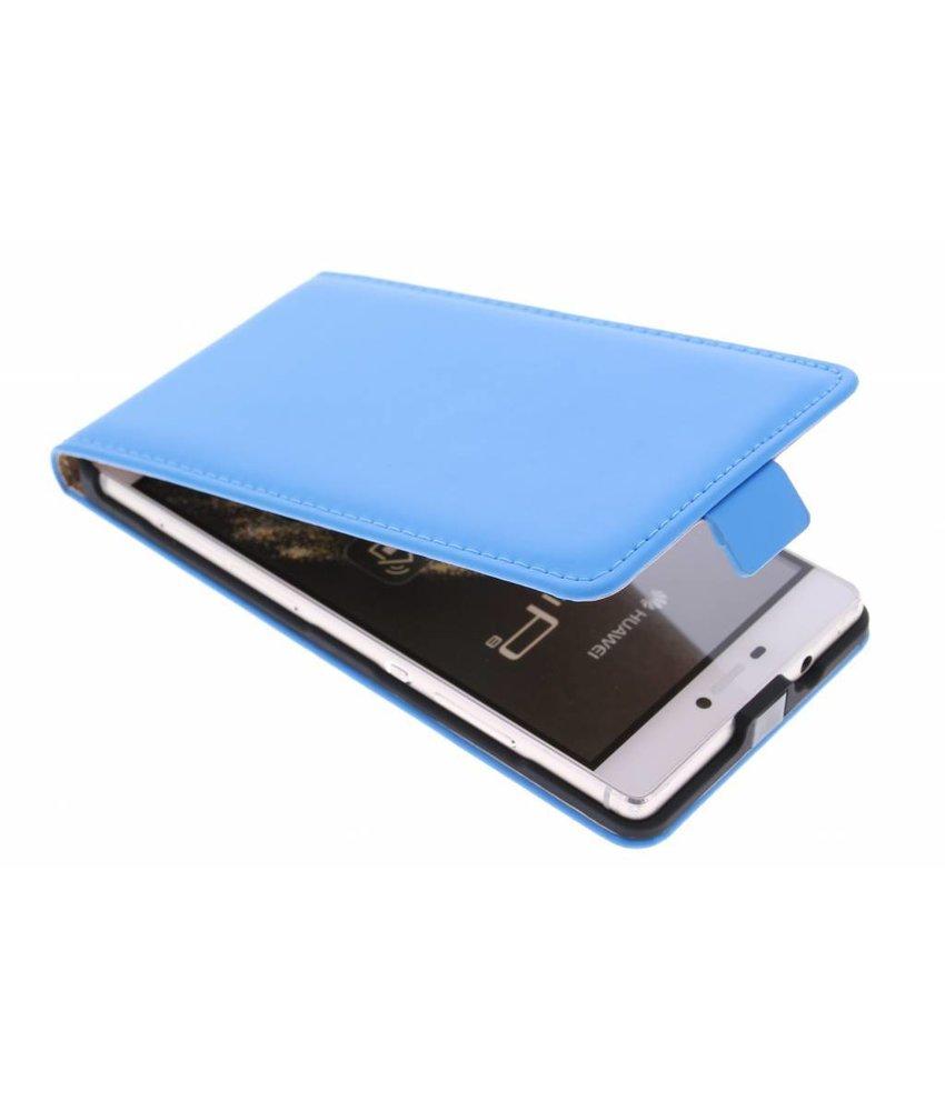 Selencia Luxe Flipcase Huawei P8 - Blauw