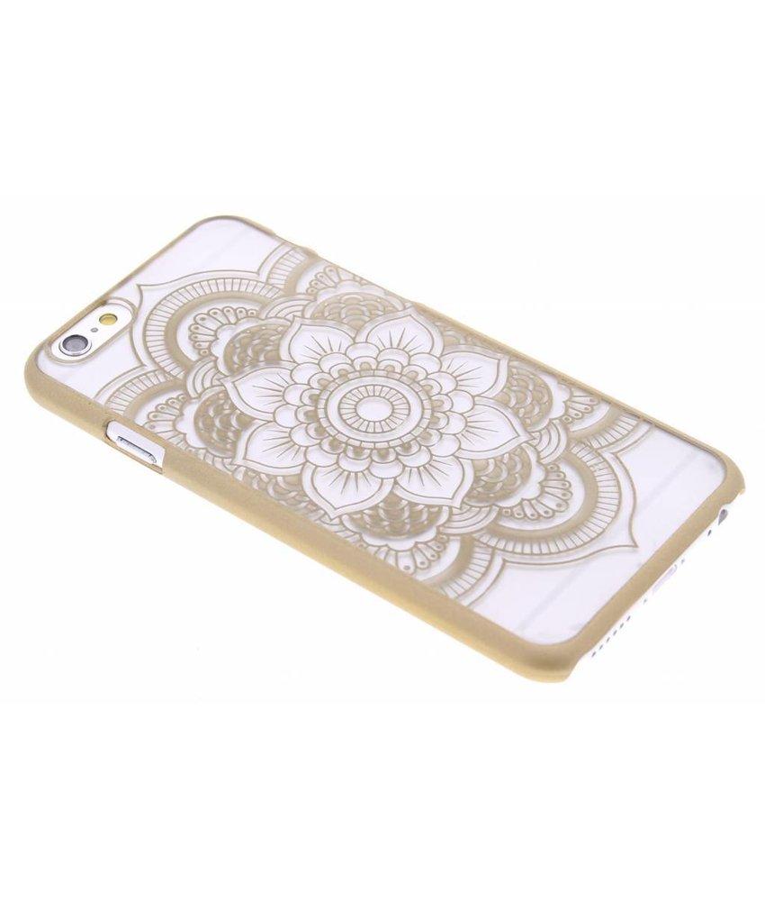 Goud mandala mat hardcase hoesje iPhone 6 / 6s
