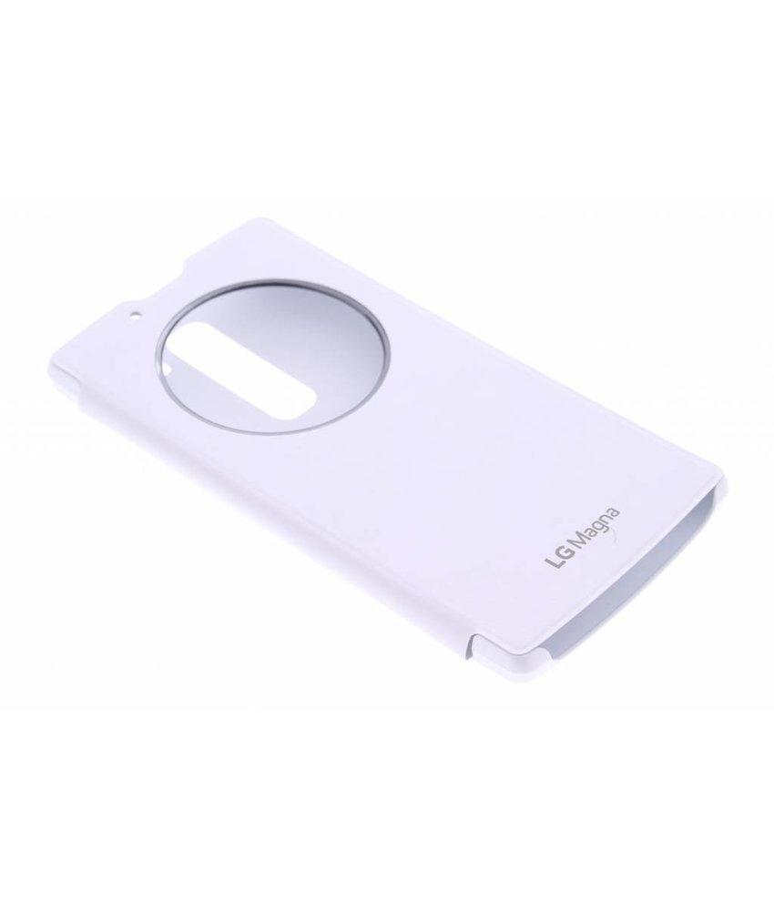 LG Quick Circle Case LG Magna / G4c - wit