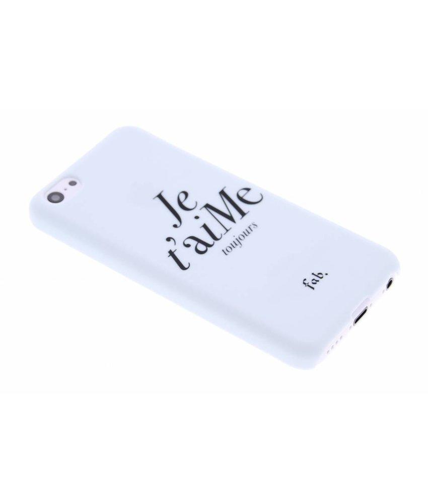 Fab. Je t'aiMe hardcase hoesje iPhone 5c