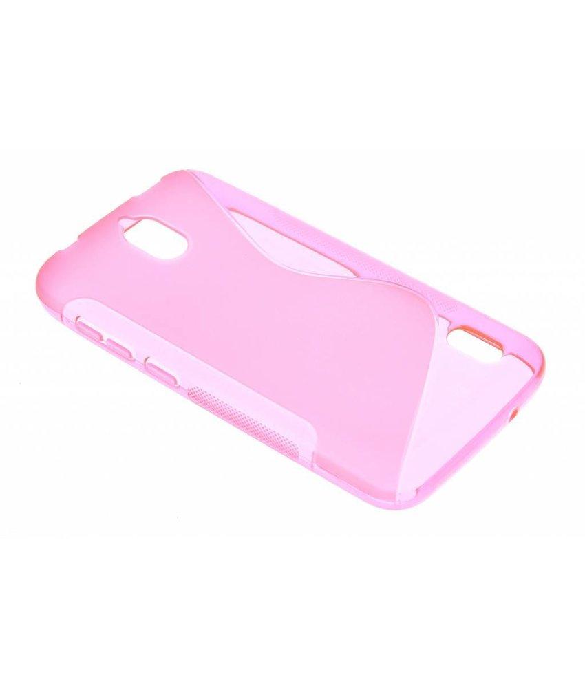 Roze S-line TPU hoesje Huawei Y625