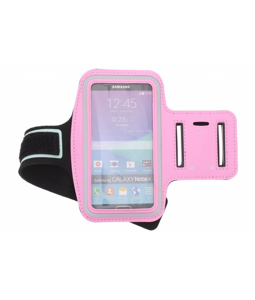 Roze sportarmband Samsung Galaxy Note 4