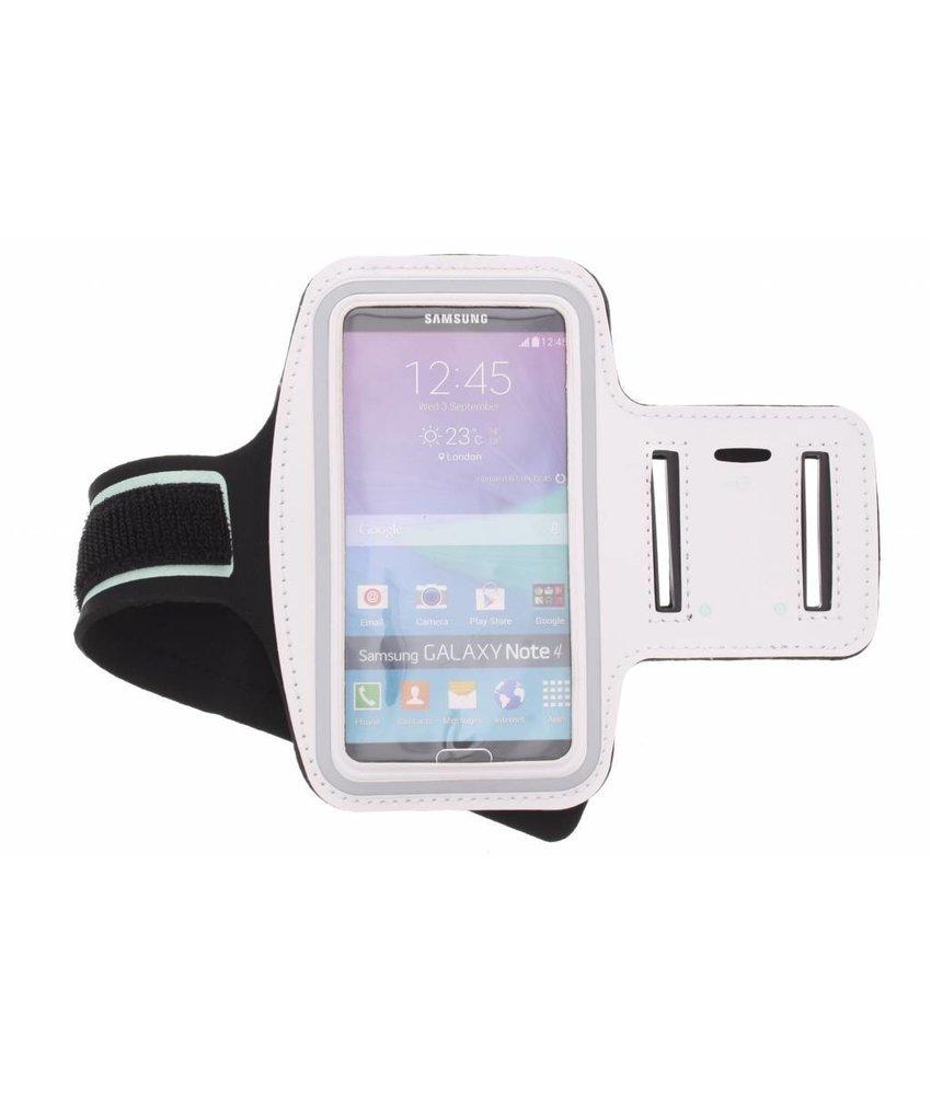 Wit sportarmband Samsung Galaxy Note 4