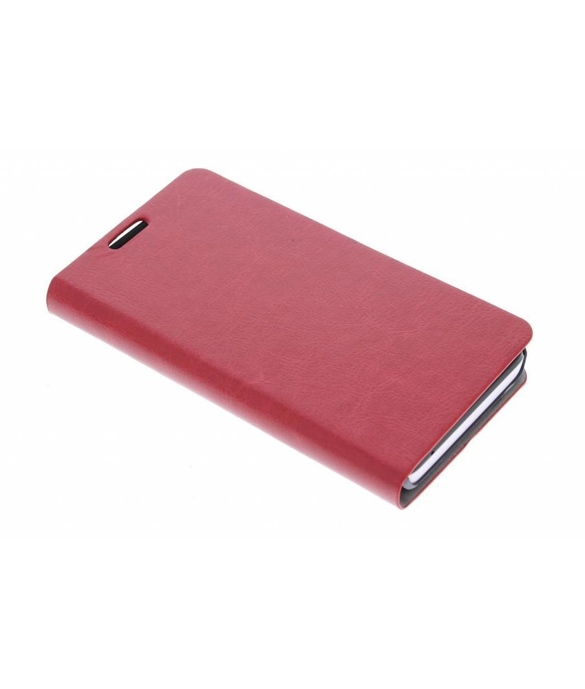 Rood moderne booktype hoes Huawei Y635