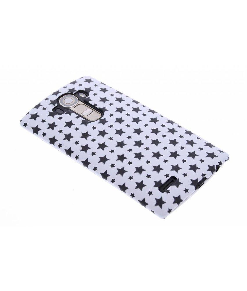 Wit sterren design hardcase hoesje LG G4