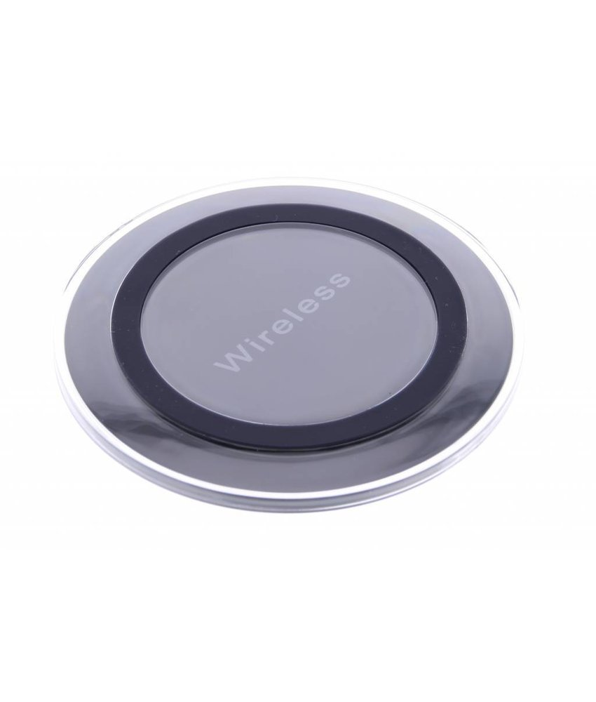Qi Wireless Charging Plate - Zwart