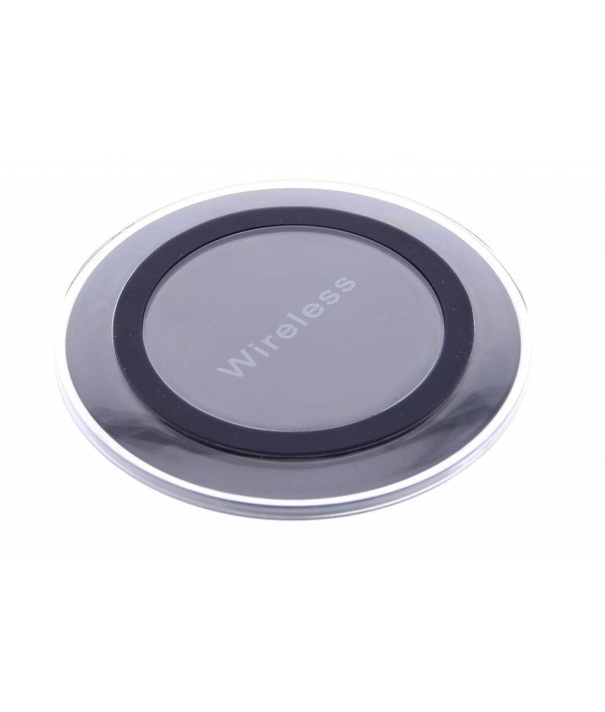 Qi Wireless Charging Plate - Zwart